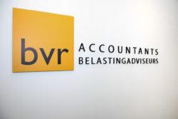 Logo BVR aan de muur