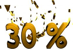 30 procent